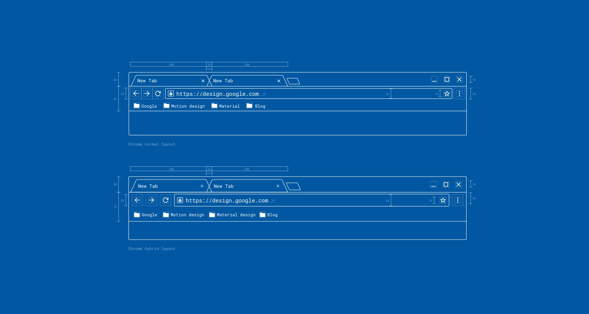 Редизайн Хрома на десктопе