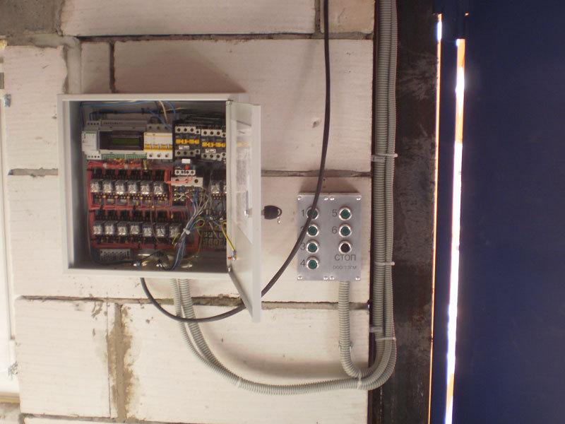 Схема подключения трехфазного счетчика в сеть 380 В