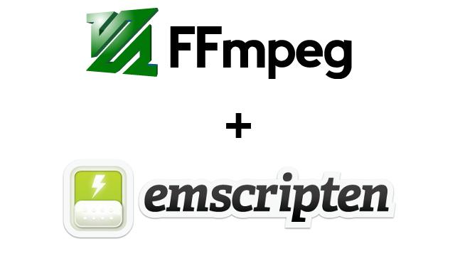 [Перевод] Компилируем FFmpeg в WebAssembly (=ffmpeg.js): Часть 3 — Конвертация avi в mp4