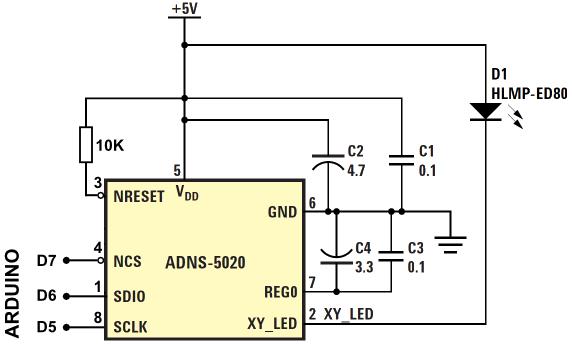 Припаяйте резистор 10 кОм