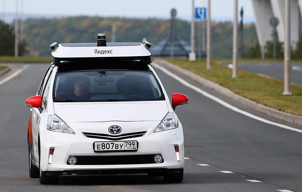 На территории «Сколково» начинает курсировать беспилотное такси от «Яндекса»