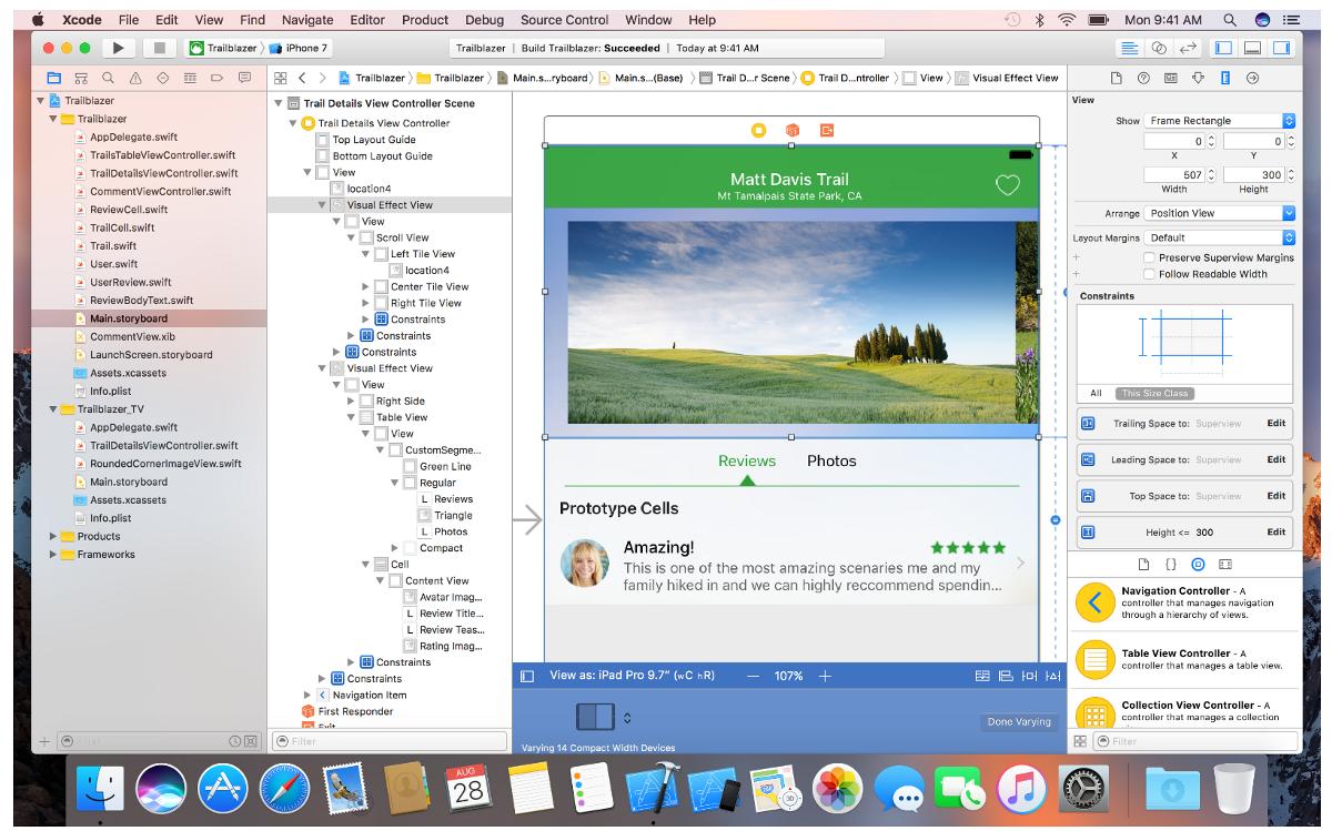 Xcode: наверное, лучший способ работы со сторибордами