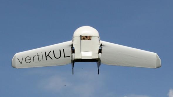 Дрон-доставщик, который летает как самолет и садится как вертолет