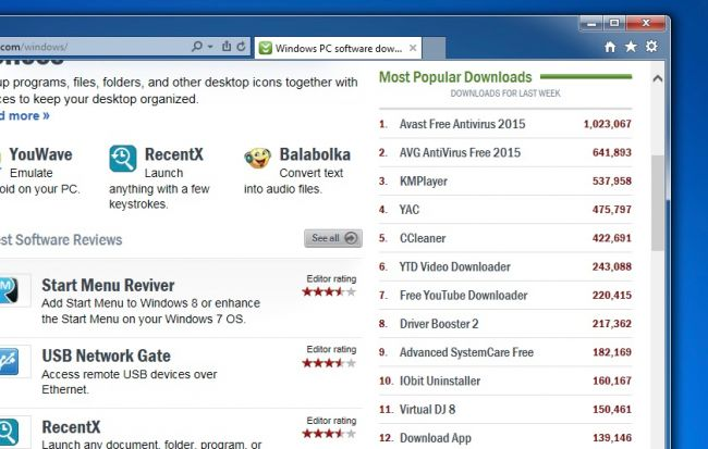 Вот что будет, если установить топ-10 программ с Download.com