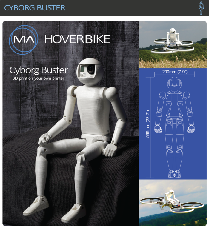 Hoverbike: летающий транспорт становится все реальнее