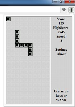 Портируем игру с тетриса… в браузер!