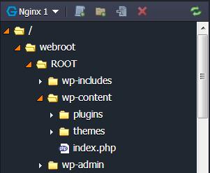 сервер без файлов