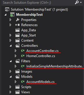 ASP.NET MVC 4 Internet template