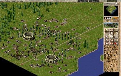 Генерация больших карт в ремейке игры «Caesar III(с)»