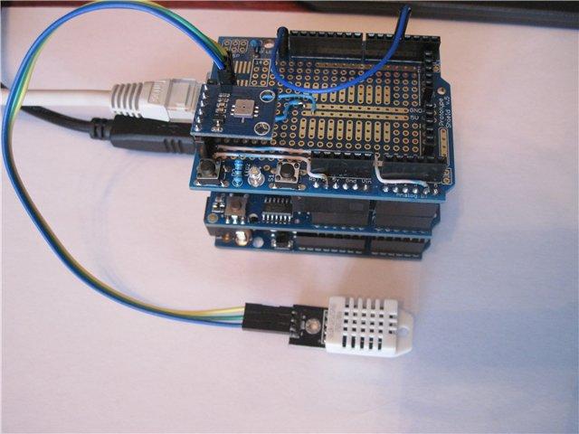 Ethernet метеостанция