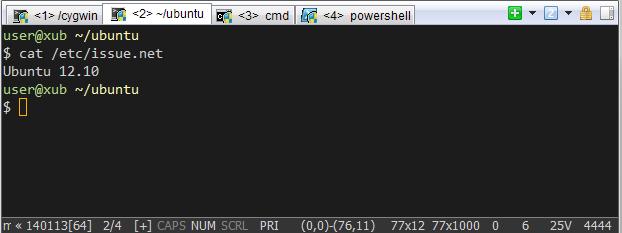 Ламповый Linux-like терминал в Windows