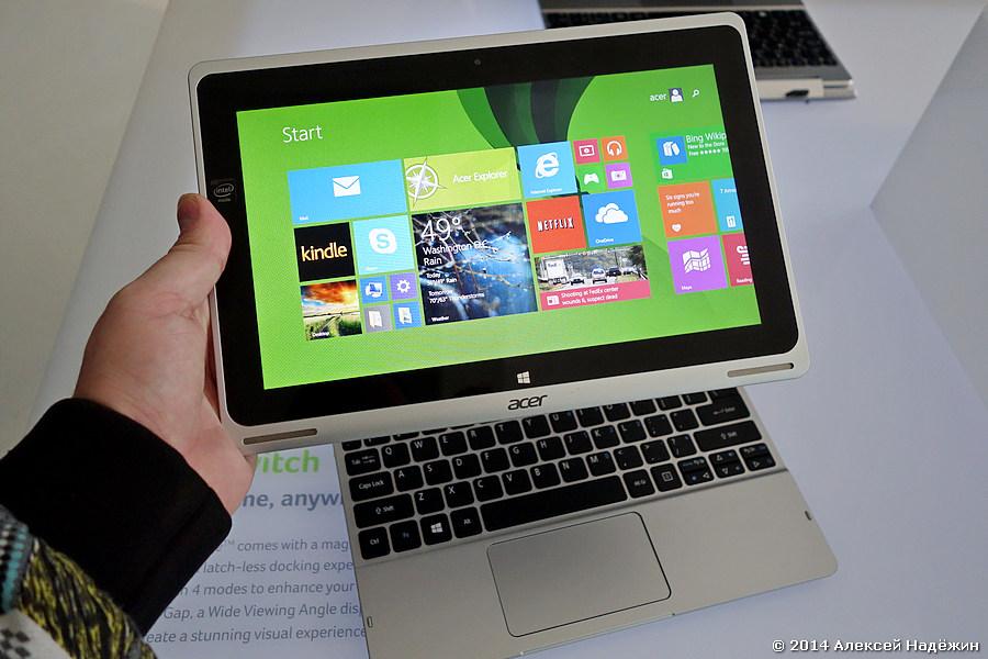 Планшетоноутбук Acer Aspire Switch 10