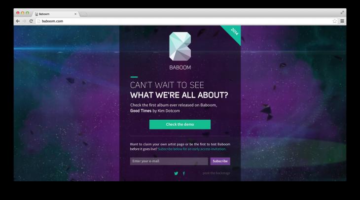 Baboom: новый проект Кима Доткома
