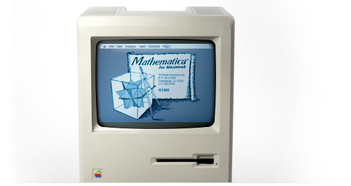 Mathematica 1.0 на Macintosh