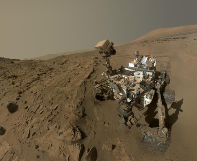 Curiosity целый год на красной планете