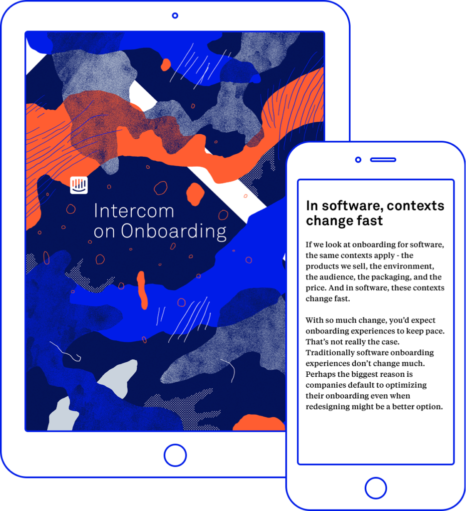 Intercom onOnboarding