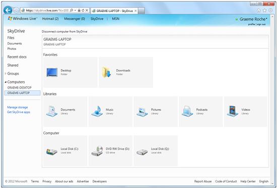 Microsoft Skydrive что это - фото 11