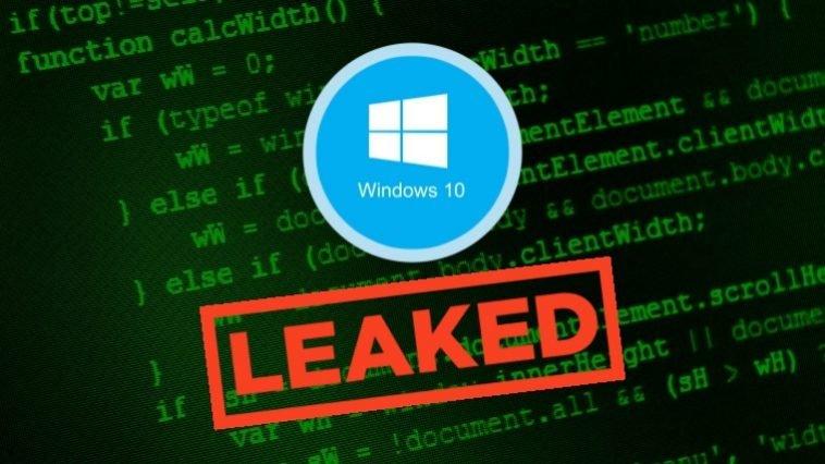 В сеть утекли исходные коды операционной системы Windows 10 [маленькая част ...