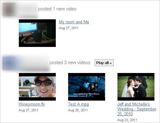 Показать свое видео приват