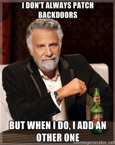 Обновление для backdoor в роутерах Linksys и Netgear