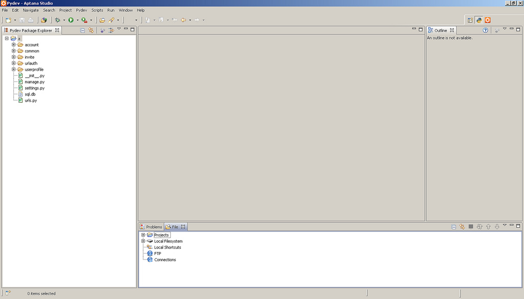 5See the folder that appears in Pydev Package Explorer
