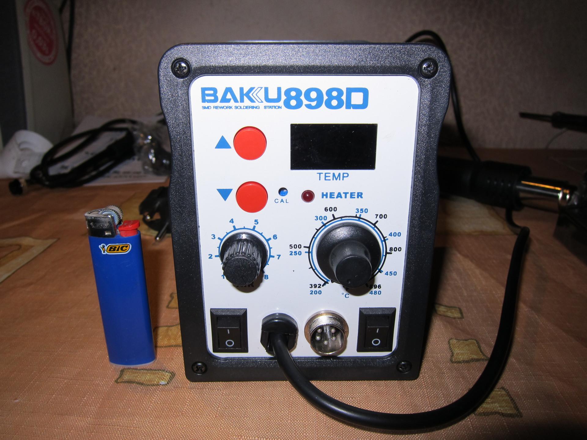 Overview of soldering station BAKU 898D