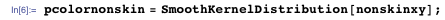 pcolornonskin = SmoothKernelDistribution[nonskinxy];