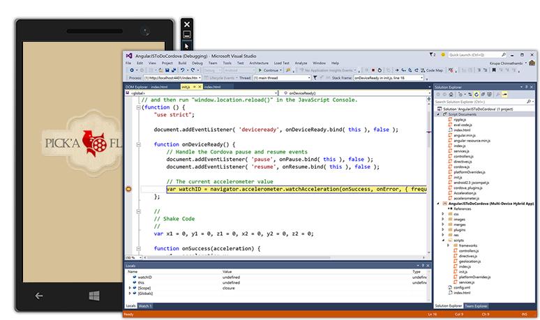NET платформы, Visual Studio