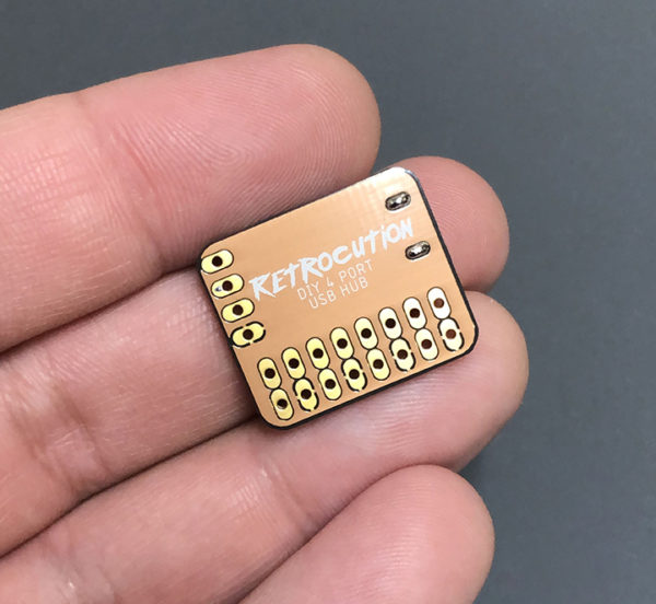 [Перевод] Лёгкий способ сделать крохотный USB-хаб для Raspberry Pi