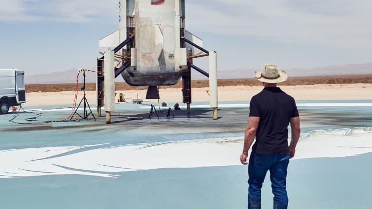 Джефф Безос Я полечу в космос 20 июля, потому что я мечтал об этом всю свою жизнь