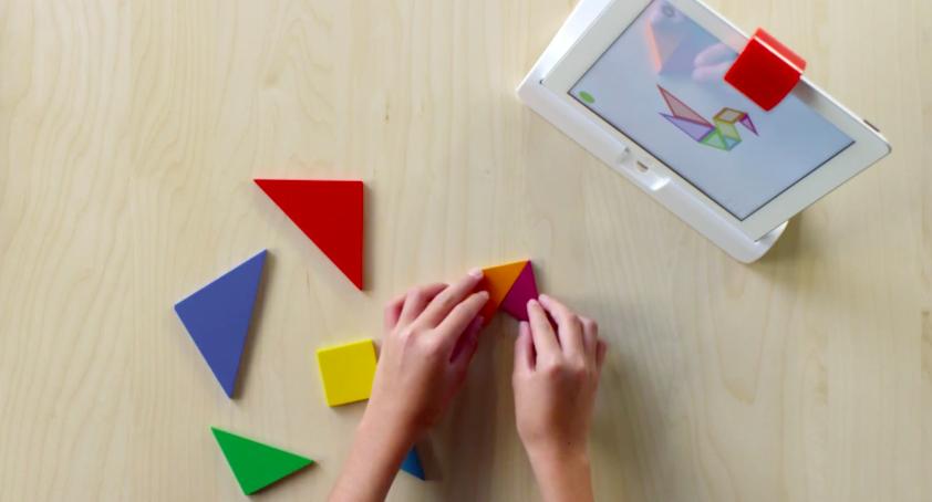 Osmo: детский проект для iPad с Leap Motion