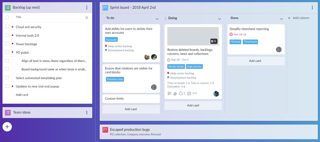 14 Best Kanban Board Tools in 2019 / Hygger corporate blog