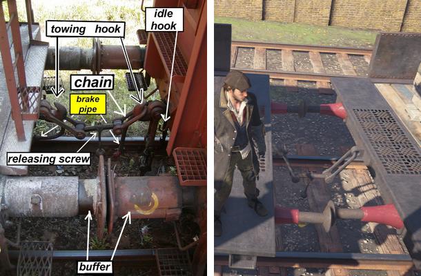 Физика поездов в Assassin's Creed Syndicate