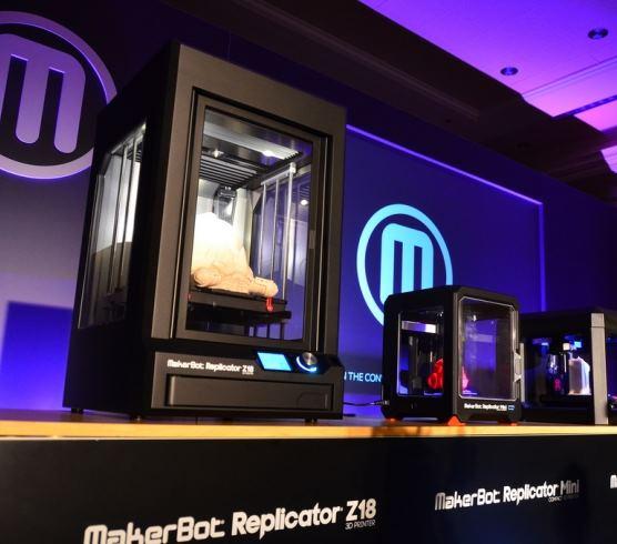 MakerBot выпустил две новые модели 3D-принтеров: Replicator Mini и Replicator Z18