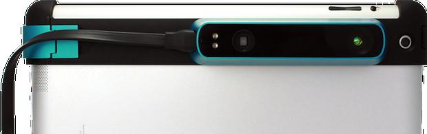 Внешний 3D/IR сенсор для мобильных устройств собрал 500k $ за 2 дня