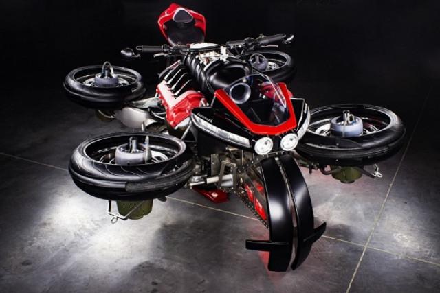 La Moto Volante Flying Motorcycle