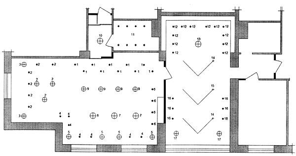 Схема кабинета офисного
