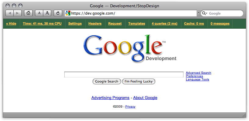 Google Development