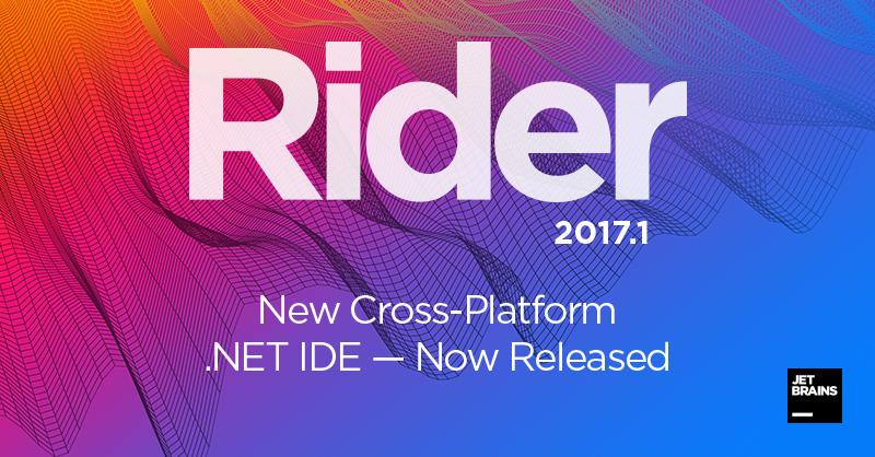 JetBrains Rider 2017.1 — первый релиз новой кроссплатформенной .NET IDE