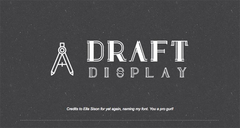 Draft Display