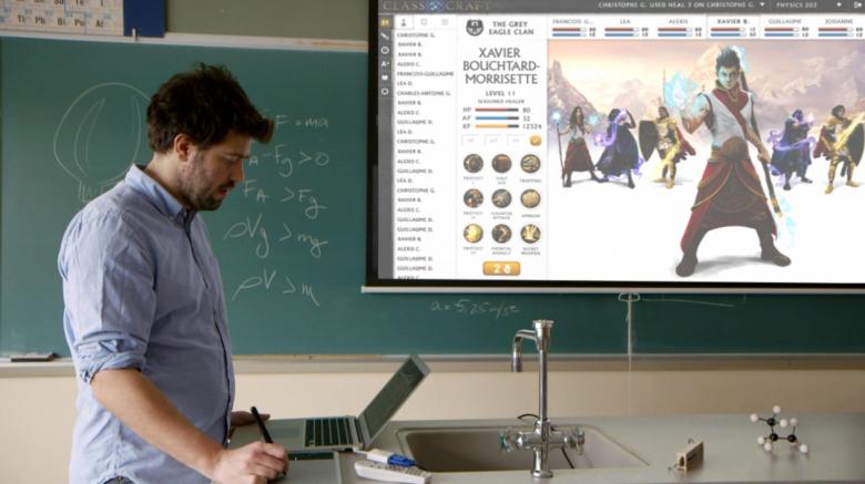 Classcraft превращает школьные уроки в огромную ролевую игру — с условно-бе ...
