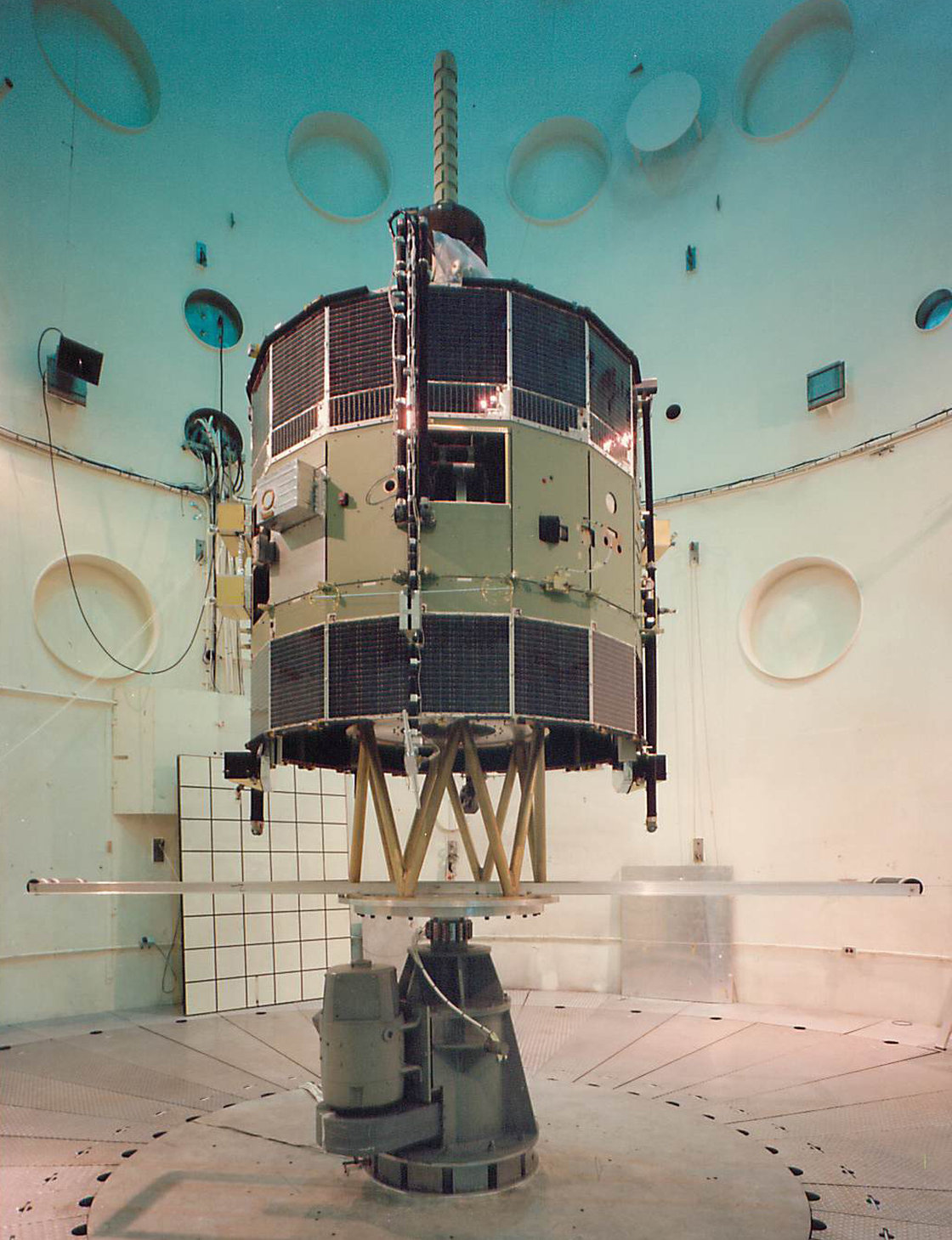 ISEE-3 at a tender age, sometime before its 1978 launch.