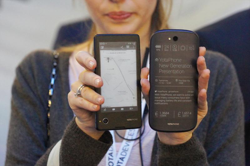 Второе поколение yotaphone от российской компании yota