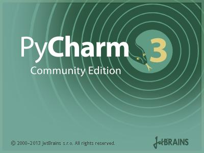 PyCharm 3 Community Edition.png