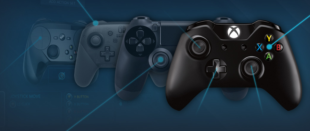 The company Valve presented a rating of game controllers used in Steam