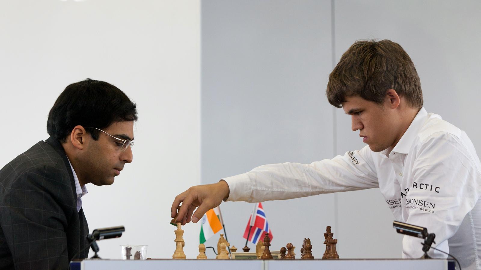 Ананд и Карлсен