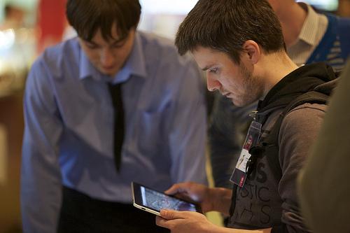 Димулька и iPad