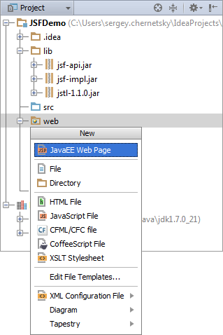 Development of jsf of applications by means of intellij idea part 2 development of jsf of applications by means of intellij idea part 2 development of ccuart Choice Image