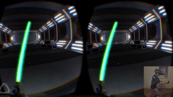 Oculus Rift и STEM делают лазерные мечи реальностью