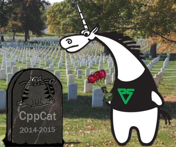 Мы закрываем проект CppCat